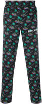Palm Angels palm trees printed trousers
