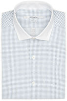 Perry Ellis Very Slim Tiny Diamond Dress Shirt