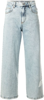 MSGM Mid-Rise Straight Jeans