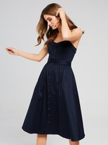 Portmans Naomi Navy Midi Dress