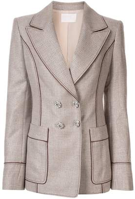 Peter Pilotto slim fit lurex blazer