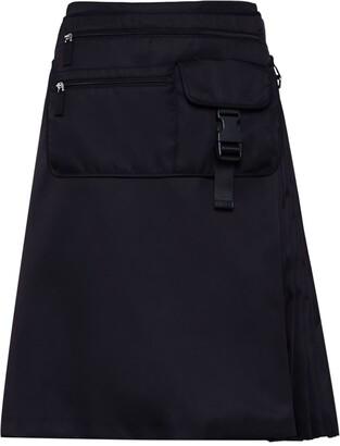 Prada Multi-Pocket Belt Bag Skirt