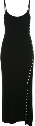 Proenza Schouler White Label Fitted Midi Knitted Dress