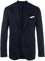 Neil Barrett camouflage print blazer - men - Cotton/Polyester/Spandex/Elastane/Viscose - 46