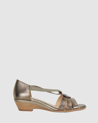 Easy Steps - Women's Silver Heeled Sandals - Corina - Size One Size, 37 at The Iconic