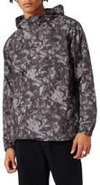 Topman Men's Printed Hooded Anorak