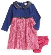 Us Angels Infant Girl's Mixed Media Dress
