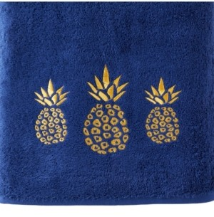 Saturday Knight Ltd Gilded Pineapple Bath Towel Bedding