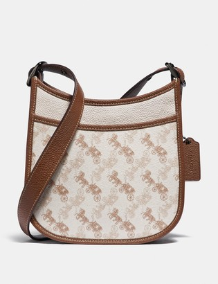 Coach Emery Crossbody 21 With Horse And Carriage Print