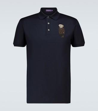 Ralph Lauren Purple Label Bear short-sleeved polo shirt