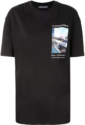 Y/Project print t-shirt
