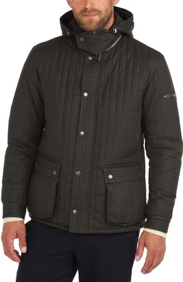 Barbour Supa-Convertible Quilted Waxed Cotton Jacket