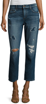 Joe's Jeans Ex-Lover High-Rise Distressed Crop Jean