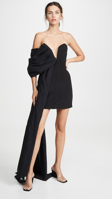 Ellery Ecuador Draped Asymmetrical Dress