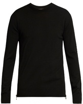Balmain Crew-neck Wool Sweater