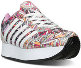 K-Swiss Girls' New Haven Platform MOD Casual Sneakers from Finish Line