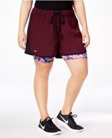 Ideology Plus Size 2-in-1 Shorts, Only at Macy's