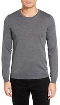 BOSS Men's Leno-B Crewneck Wool Sweater