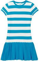 Milly Minis Stripe Tennis Dress (Big Girls)