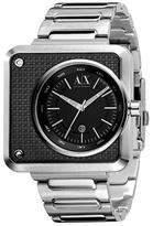 Armani Exchange Geometric Metal Watch