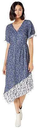 Kensie Nostalgic Blooms Short Sleeve Dress KS8K8382