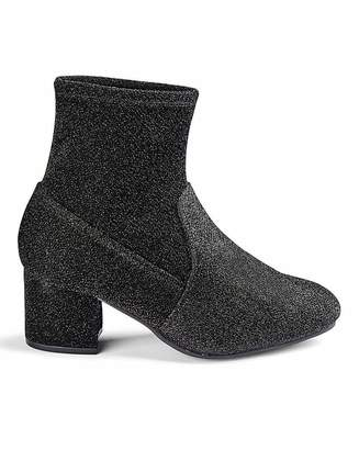 Jd Williams Flexi Sole Stretch Ankle Boots E Fit
