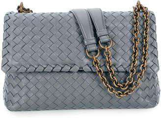 Bottega Veneta Intrecciato Double Chain Shoulder Bag