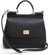 Dolce & Gabbana 'Small Miss Sicily' Leather Satchel