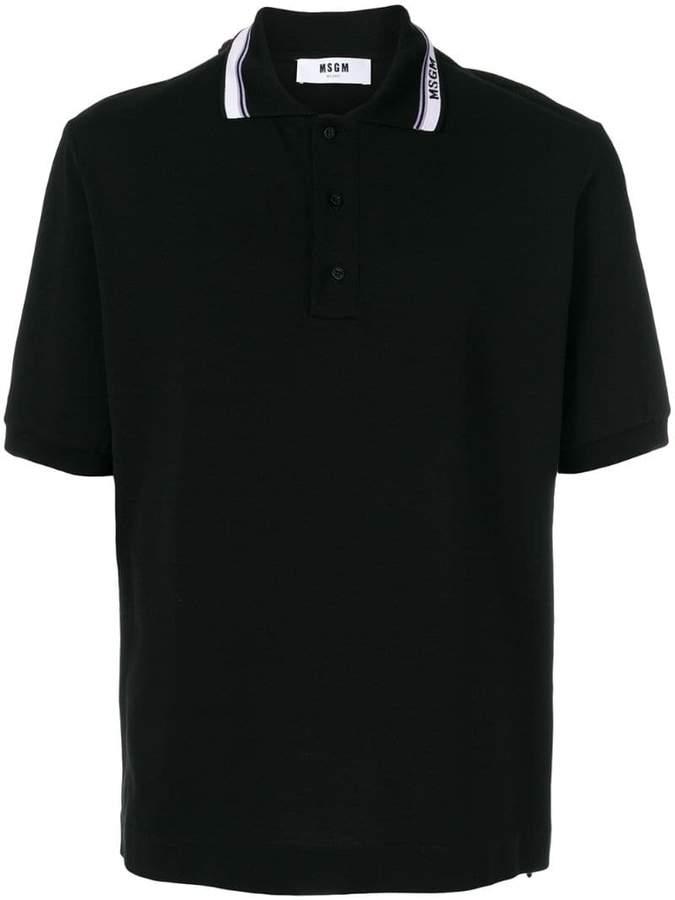 MSGM short sleeve polo shirt