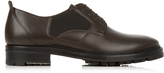 Lanvin Elasticated-side leather derby shoes