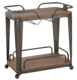 Lumisource Oregon Bar Cart