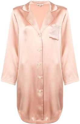 Morgan Lane Jillian silk shirt dress