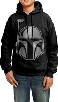 AOIQIJQ Boys Star Wars Boba Fett Platinum Style Hoodie