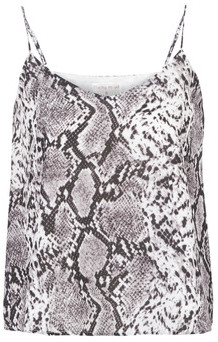 Moony Mood LIVIRE women's Vest top in Grey