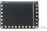 Valentino Garavani Valentino Rockstud chain wallet - women - Leather/Metal (Other) - One Size