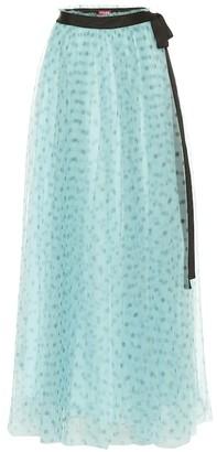 STAUD Poppy tulle maxi skirt