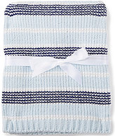 Starting Out Baby Boys Tonal Striped Chenille Blanket