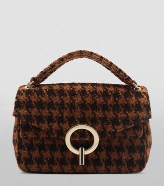 Sandro Paris Small Tweed Bag