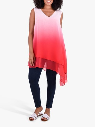 Live Unlimited Curve Ombre Top, Pink