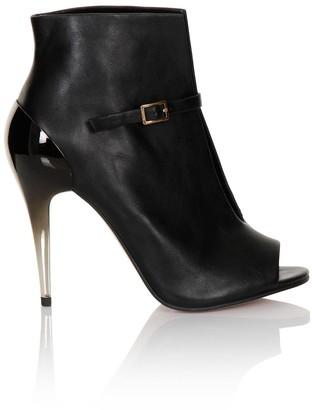 Little Mistress Ombre Heel Buckle Ankle Boot