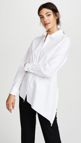 Golden Goose Deluxe Brand Golden Asymmetric Shirt