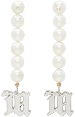 Misbhv Silver Pearl Earrings