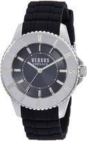 Versus By Versace Men's Tokyo SGM160015 Silicone Quartz Watch