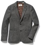 Original Penguin Wool Blend Herringbone Jacket