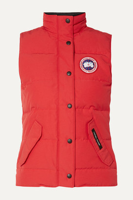 Canada Goose Freestyle Quilted Shell Down Vest - Red
