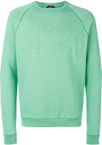 No.21 embossed logo sweatshirt - men - Cotton/Polyamide - S