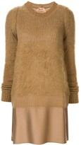 No.21 sweater mini dress