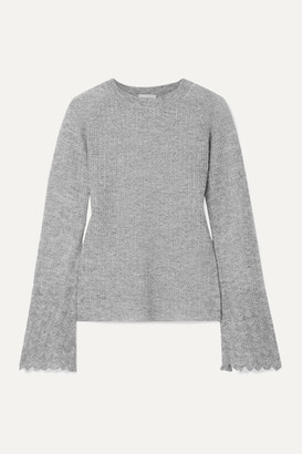 By Malene Birger Open-knit Sweater - Gray