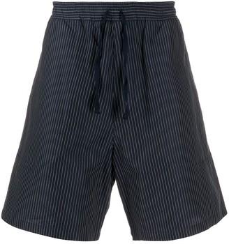 YMC Pinstriped Shorts