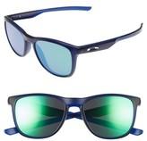 Oakley Women's Trillbe X 52Mm Sunglasses - Black/ Ruby Iridium